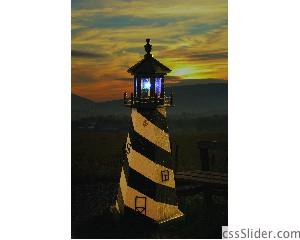 Lighthouse with Solar Light