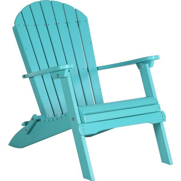 PFACAB Folding Adirondack Chair Aruba Blue copy