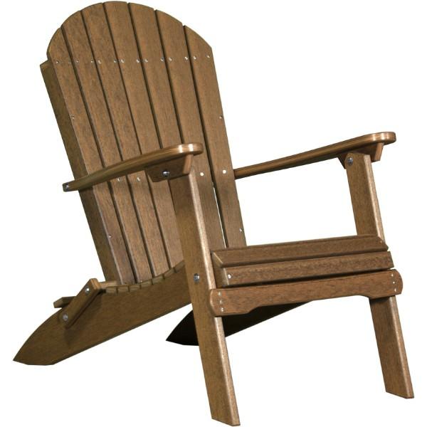 PFACAM Poly Folding Adirondack Chair Antique Mahogany copy