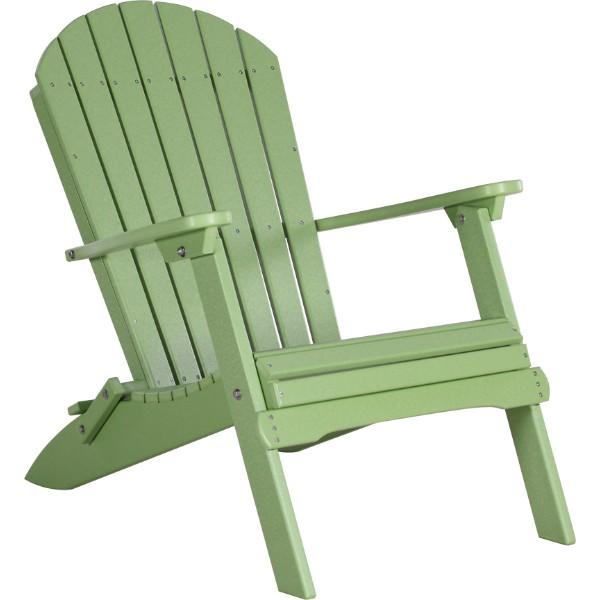 PFACLG Folding Adirondack Chair Lime Green copy