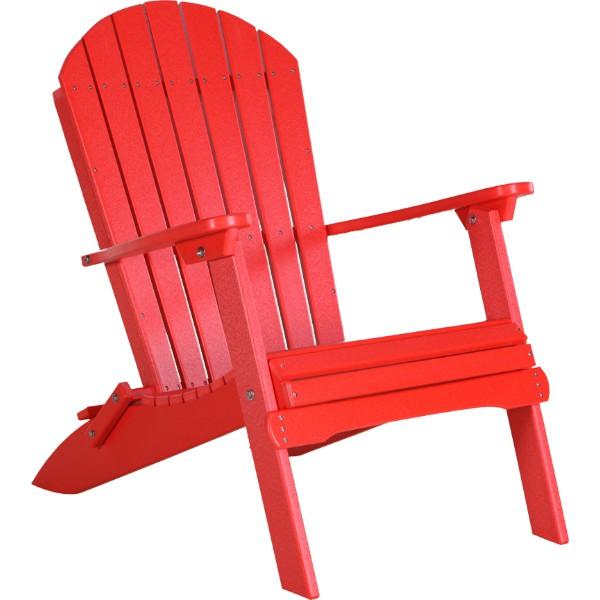 PFACR Folding Adirondack Chair Red copy