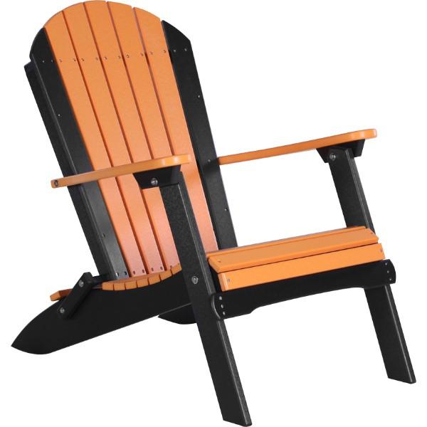 PFACTB Folding Adirondack Chair Tangerine & Black copy